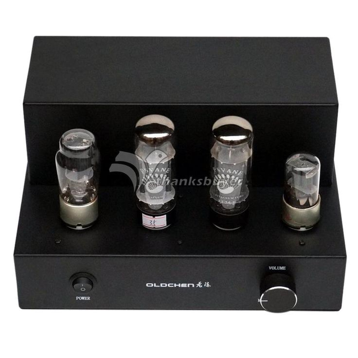EL34 Pure Manual Bile Rectifier EL34 4 Electronic Tubes Amplifier for Audio DIY-Black