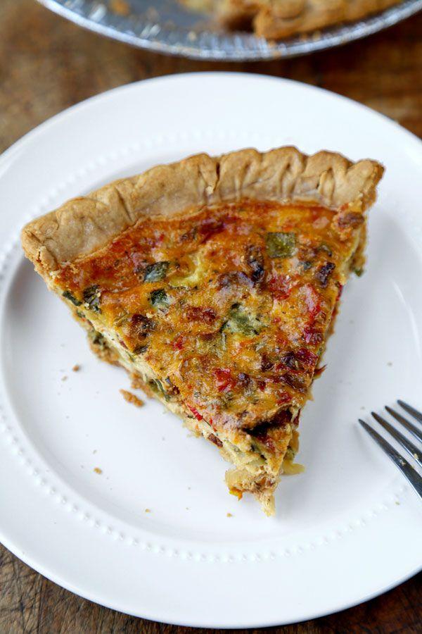 Vegetable Ricotta Pie Recipe