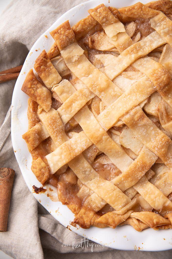 Vegan Apple Pie Easy Healthy Recipes Recipe In 2020 Vegan Apple Pie Vegan Apple Pie Recipe Recipes