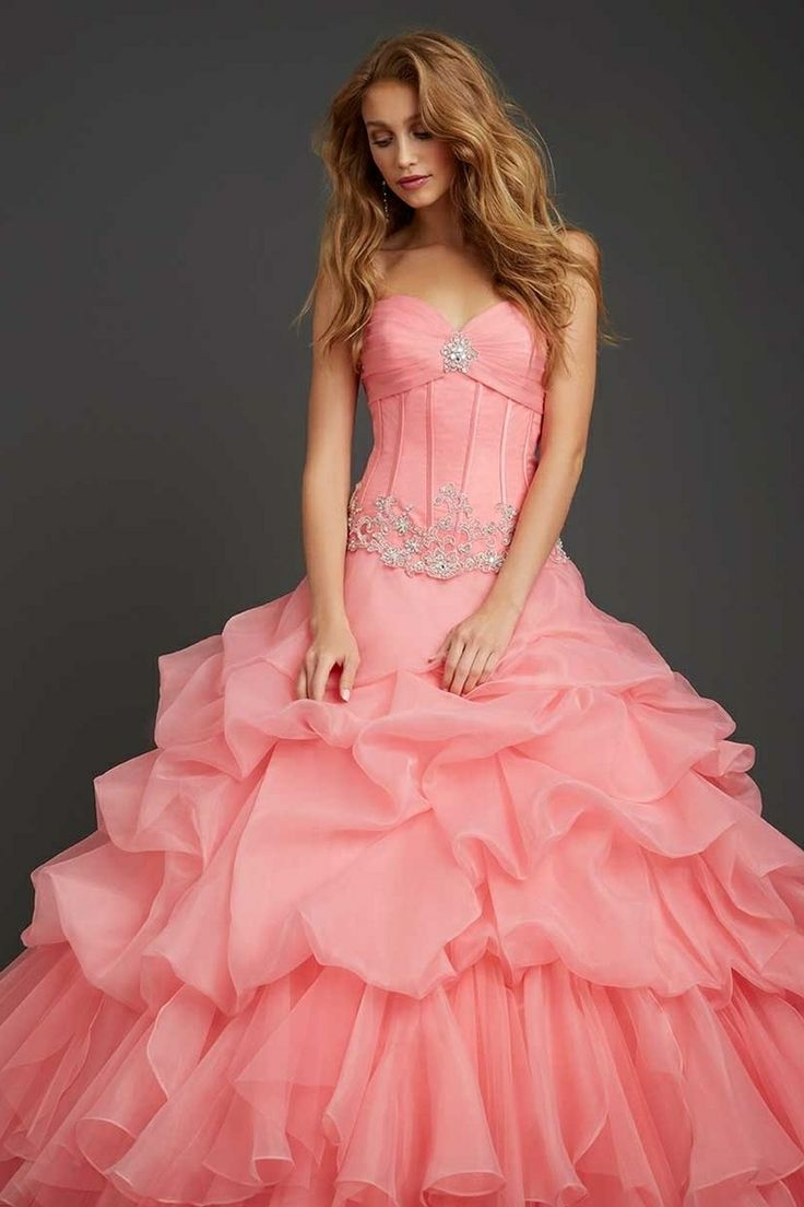 2014 Quinceanera Dresses New Arrival Ball Gown Sweetheart Floor Length Organza Lace Up Back