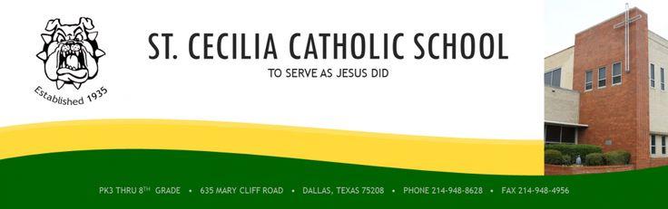 St. Cecilia Catholic School. My former school
