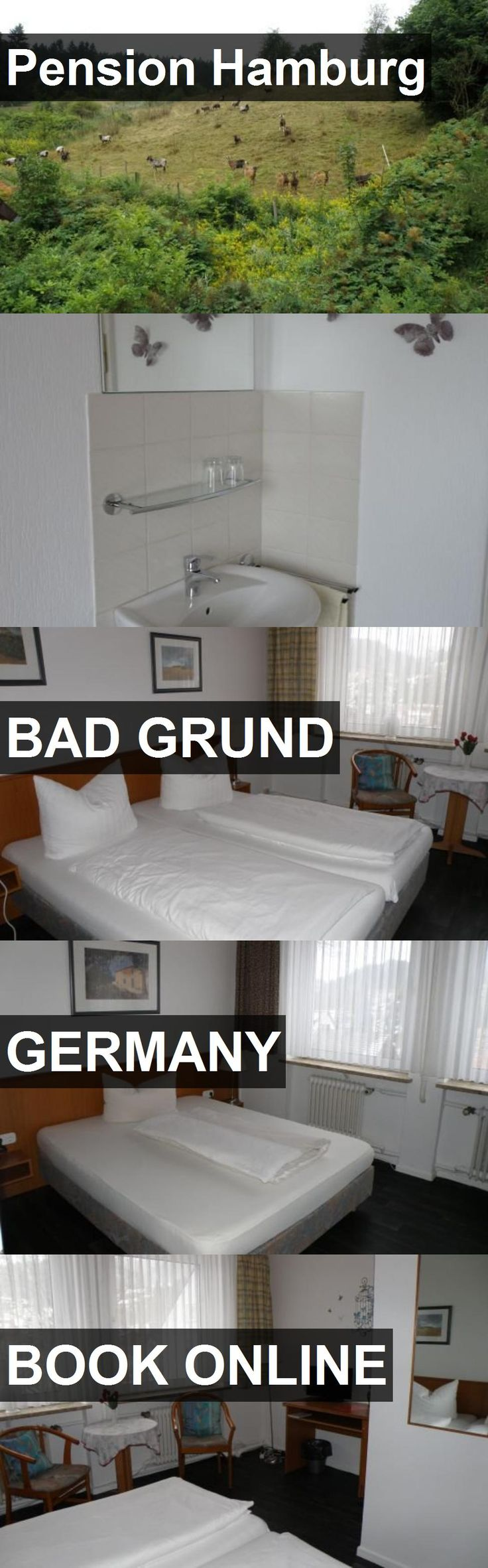 Hotel Pension Hamburg in Bad Grund, Germany. For more information, photos, reviews and best prices please follow the link. #Germany #BadGrund #travel #vacation #hotel