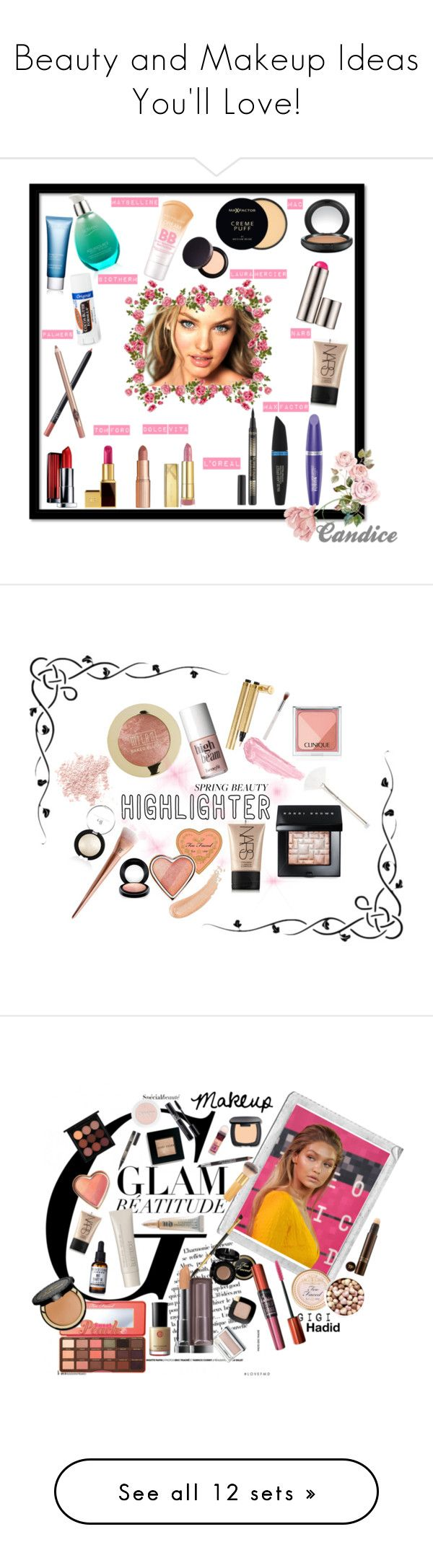 """""""Beauty and Makeup Ideas You'll Love!"""" by sarahbearsy on Polyvore featuring beauty, Clarins, Maybelline, Laura Mercier, Biotherm, MAC Cosmetics, NARS Cosmetics, Max Factor, L'Oréal Paris and Palmer's"""