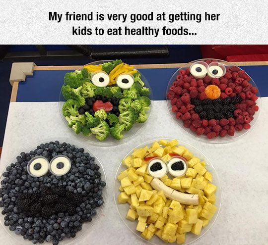 Sesame Street Fruit Bowls