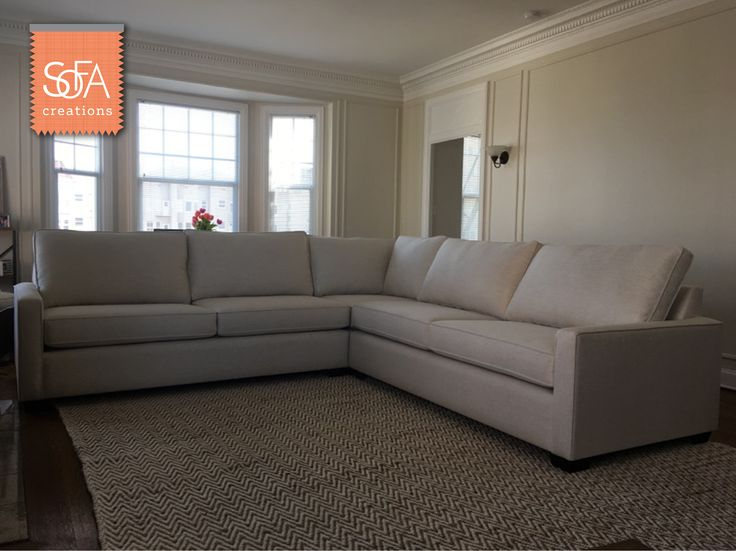 Anything from our fabric collection can be made as a sectional - you tell us the dimensions the number of cushions and firmness! : custom sectionals - Sectionals, Sofas & Couches