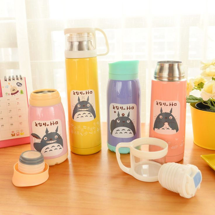 Elegant Lovely Animal Design Stainless Steel Vacuum Thermos Insulated Travel Flask Bottle 260/350/500ml Convenient Home Office