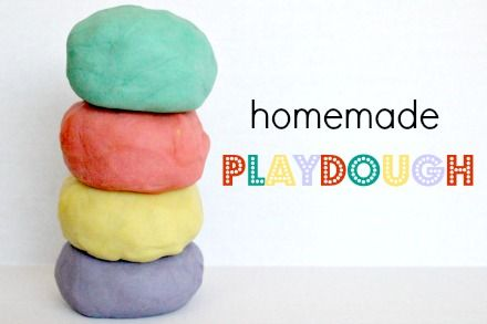how to make homemade playdough with jello