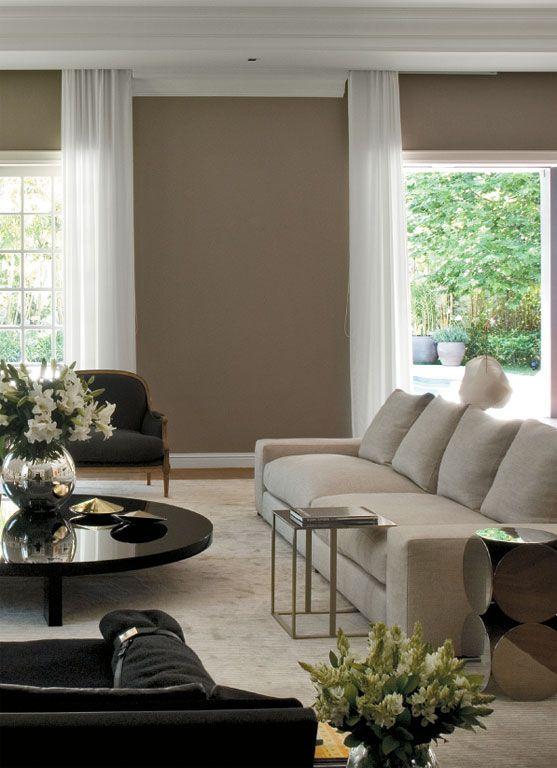 Os tons quentes da moda para pintar as paredes e renovar a - Colores de moda para pintar paredes ...