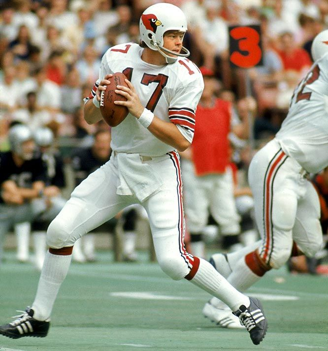 jim hart cardinals | Jim Hart spent 18 seasons playing quarterback for the Cardinals.