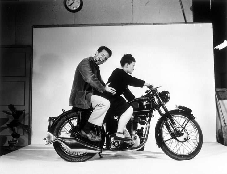 Charles & Ray Eames Motorcycle Poster - Prints