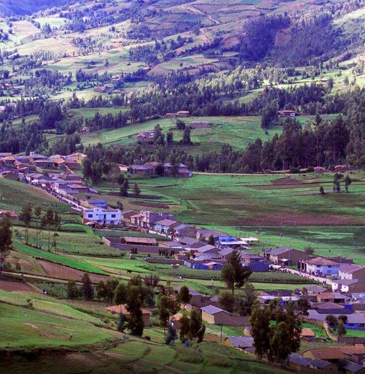 Hancayo, Valle del Mantaro....