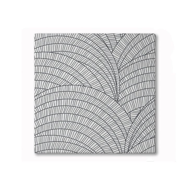 Shell Hand Tufted Woollen Rug - Black | $695.00