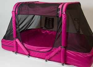 Super heavy duty bed tent. Built for special needs.