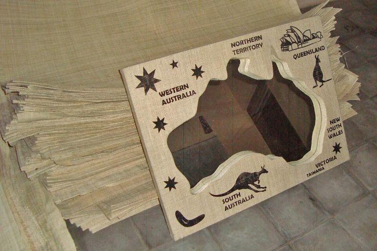 Australia Mirror Goni Printed