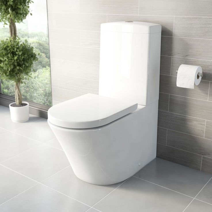 Mode Arte Close Coupled Toilet With Luxury Soft Close Toilet Seat |  VictoriaPlum.com £