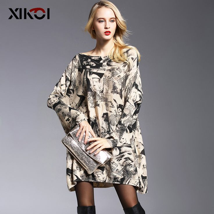 New Design Women's Fashion Print Slash Neck Sweater $32.58   => Save up to 60% and Free Shipping => Order Now! #fashion #woman #shop #diy  http://www.clothesworld.net/product/new-design-womens-fashion-print-slash-neck-sweater