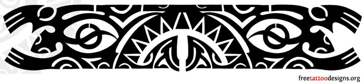 Polynesian Band Tattoo Designs | Polynesian Tribal Arm Band Pictures