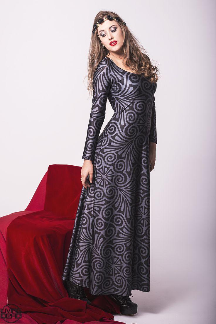 Dark Romance Maxi Dress - $120.00 AUD