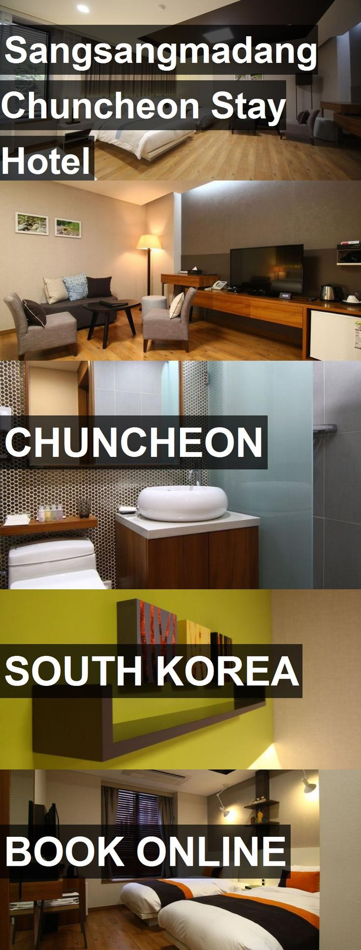 Sangsangmadang Chuncheon Stay Hotel in Chuncheon, South Korea. For more information, photos, reviews and best prices please follow the link. #SouthKorea #Chuncheon #travel #vacation #hotel