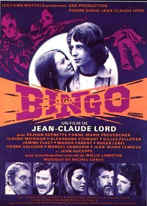 Bingo est un film québécois de Jean-Claude Lord produit en 1974. Bingo est le premier film de fiction à s'inspirer très librement de la crise d'octobre 1970. Wikipédia