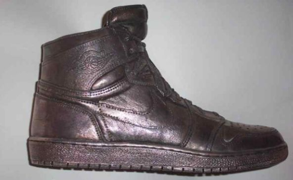 World's Most Expensive Shoes for Men: silver Air Jordan shoes - Rich and Loaded