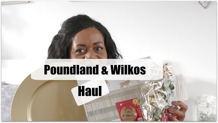 Poundland and Wilkos Haul