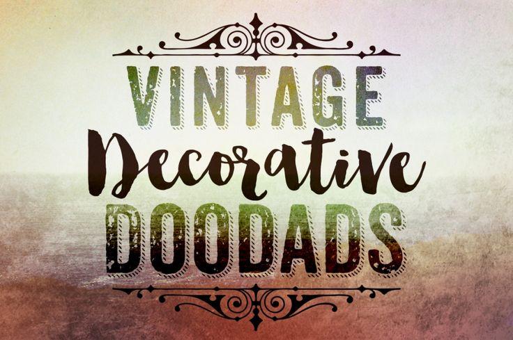 Vintage Decorative Doodads