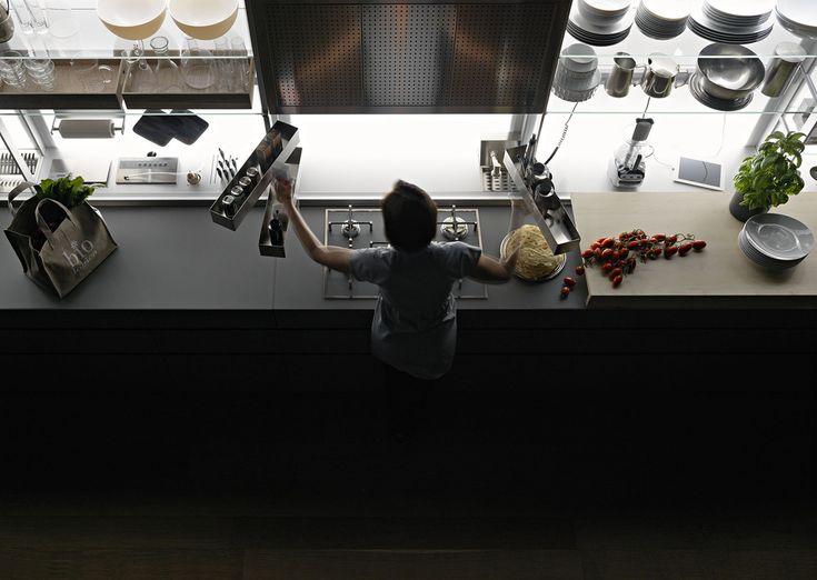 71 best Valcucine images on Pinterest   Contemporary unit kitchens ...