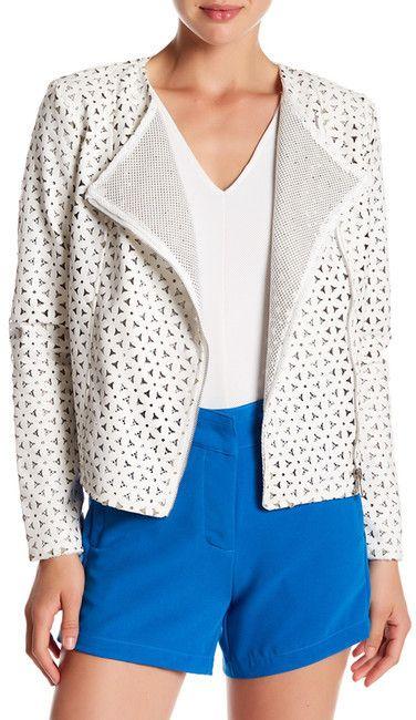 Lavand Faux Leather Jacket
