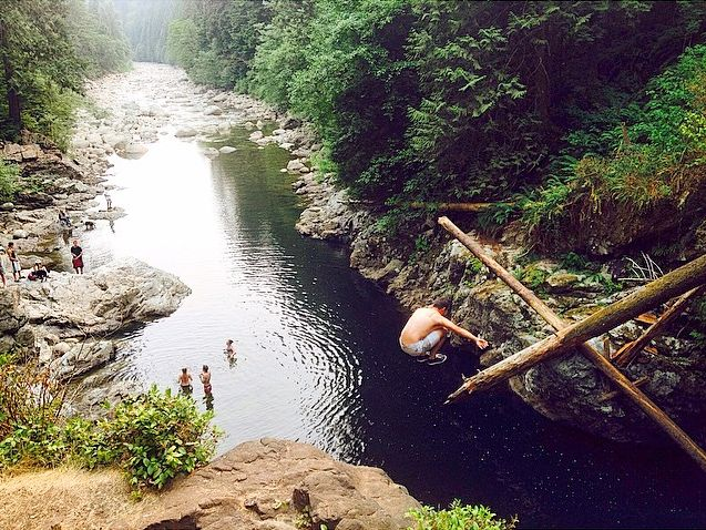 8 Best Places To Go Cliff Jumping This Summer Near Vancouver