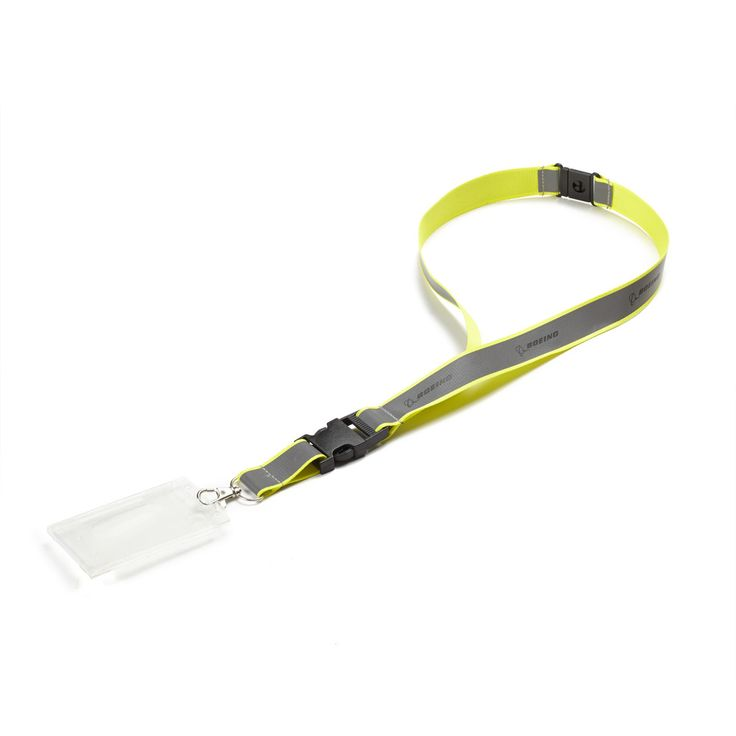 Boeing Neon Safety Lanyard - Yellow | Pilot and Safety