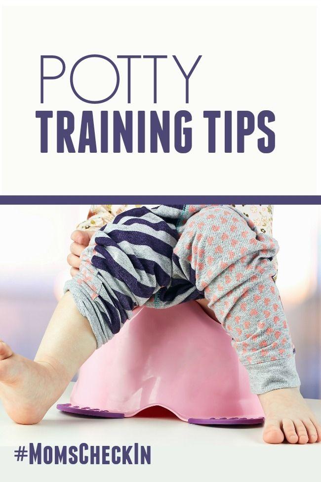 Potty Training Tips #KandooPottyTraining #MomsCheckIn