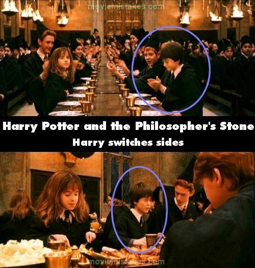 The biggest mistakes in the Harry Potter movies