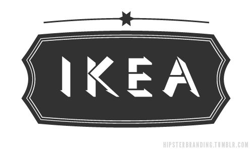 Hipster BrandingLogo Hipster, Hipsterbrand, Hipster Brand, Dave Spengel, Brand Logo, Hipster Logo, Graphics Design, Brand Inspiration, Ikea