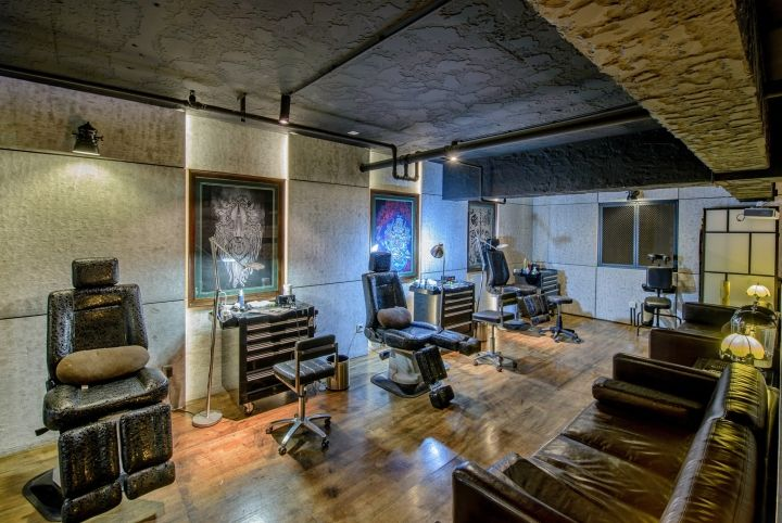 QG Tattoo studio by ARCHETYPE Design Studio, Chengdu – China » Retail Design Blog