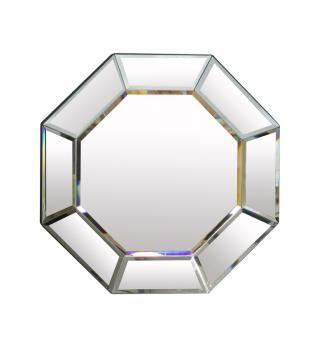Ellen Octagonal Mirror. A Block and Chisel Product.