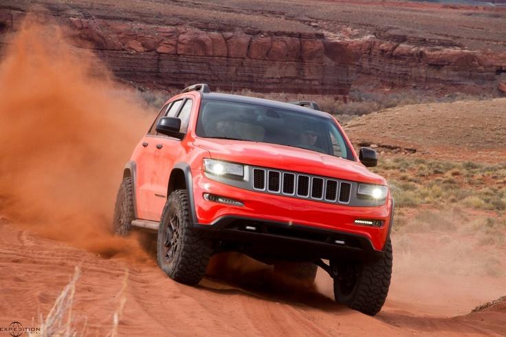 The Jeep Grand Cherokee Trailhawk II