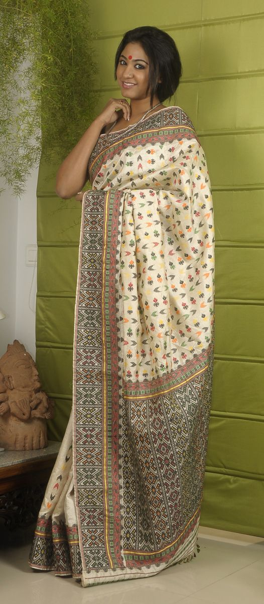 Assam muga silk by Sampa Das