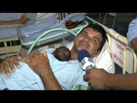 PAI CANGURU - Reportagem emocionante sobre pai de gêmeos que trocou de lugar com a mãe das crianças após o parto. = Emocionante