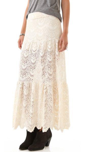 Nightcap Clothing Spanish Lace Skirt