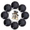 Ring -Large Daizie Adjustable Rings Black- Wake Forest Demon Deacons $11 Flirties