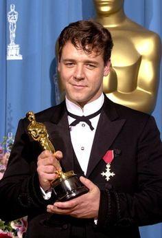 """Aussie actor Russell Crowe, Best Actor 2000 - """"Gladiator"""""""