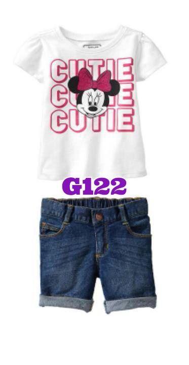 Minnie cutie girlset (G122)    size 1-6    IDR 127.000