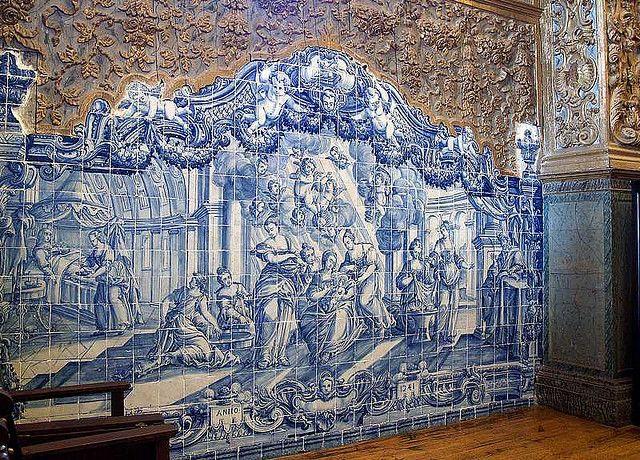 Beja - Convento da NS da Conceição -azulejo