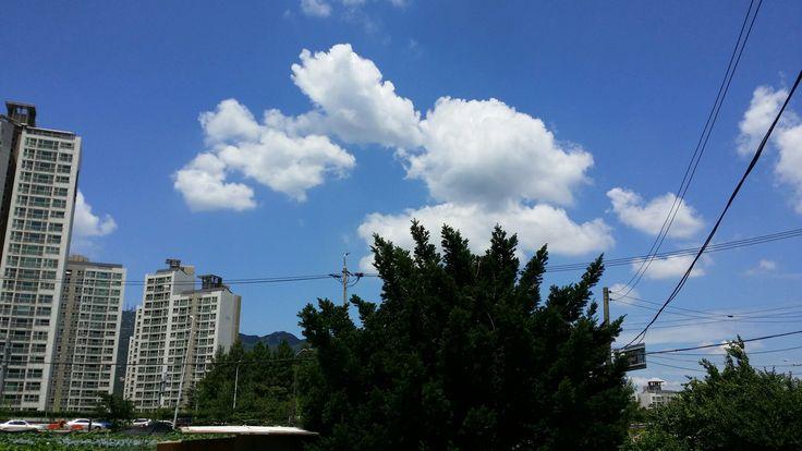 하늘의 솜사탕