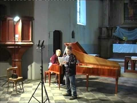 An die Musik - Franz Schubert - hammerklavier and 10 years old treble.