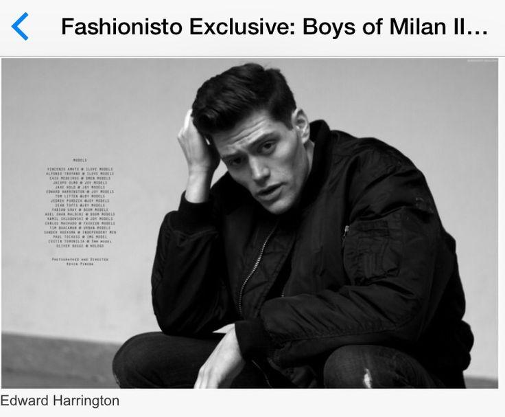 Kevin Pineda, Edward Harrington, Male Model, Black and White, photographer, Milan, mens fashion, fashion, model, fashion model