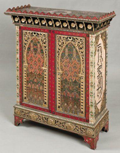 Objets d\'Art : Meubles mauresques « Algériens » du 19ème siècle ...