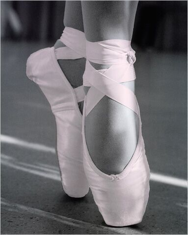 Ballet Pointe Shoes - Learn to dance at BalletForAdults.com!