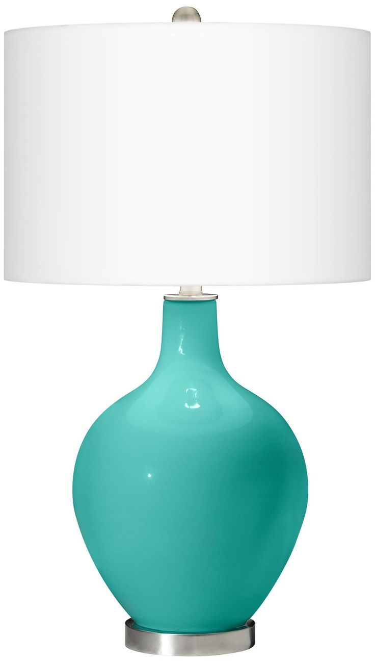 Lime green table lamp - Synergy Ovo Table Lamp